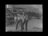Charlie Chaplin The Mechanic Male Feet Stuck