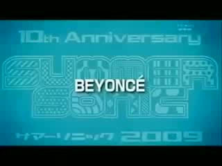 Beyonce - Crazy in love live @ Summer Sonic