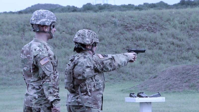 HHC, 4th ESC Weapons Qualification SAN ANTONIO, TX, UNITED STATES 07.09.2018