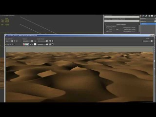 Creating Sand Dunes in 3D Max using procedural maps