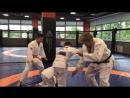 Андрей Рожков на тренировке по дзюдо в Академии единоборств РМК