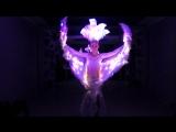 Пиксельные перьевые крылья Птица счастья от LeDance Fashion +79264404648