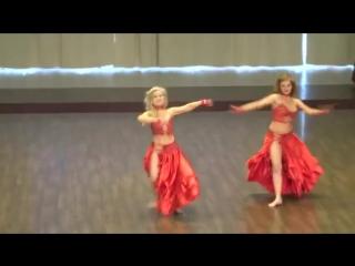 NADYA & NATALIA- DANCE QUEEN by OLESYA PISARENKO