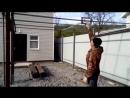 Интересный и удобный механизм закрывания ворот