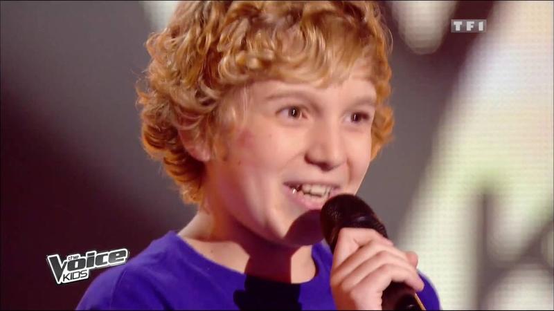 The Voice Kids 2014 Benjamin Dans un autre monde Céline Dion Blind Audition