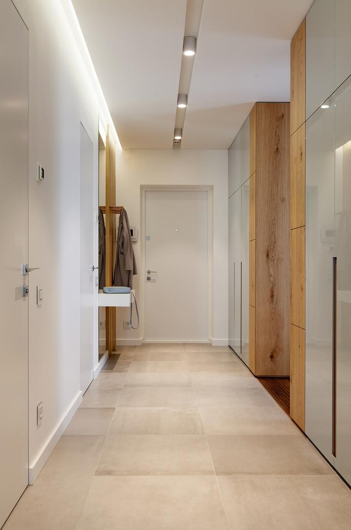 Светлая квартира в стиле контемпорари