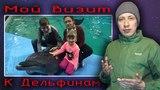 Видеоотчет о визите в Дельфинарий на Крестовском...