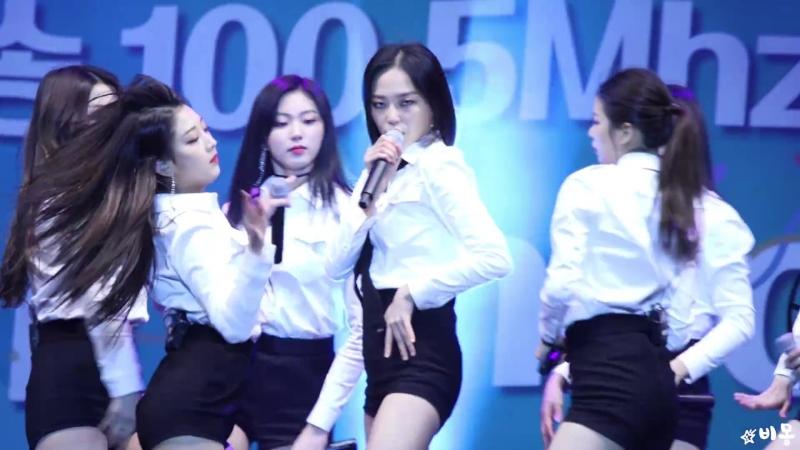 180414 씨엘씨(CLC) Yeeun 장예은 Full ver. (Black Dress 도깨비 즐겨) [함께걷자인천페스타] 4K 직캠 by 비몽
