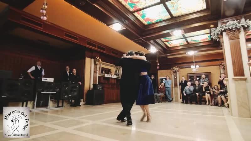 9 Декабря. Закрытие фестиваля. Virginia Vasconi и Julio Balmaceda (АРГЕНТИНА)