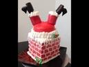 Santa Down The Chimney Cake / Cake Decorating