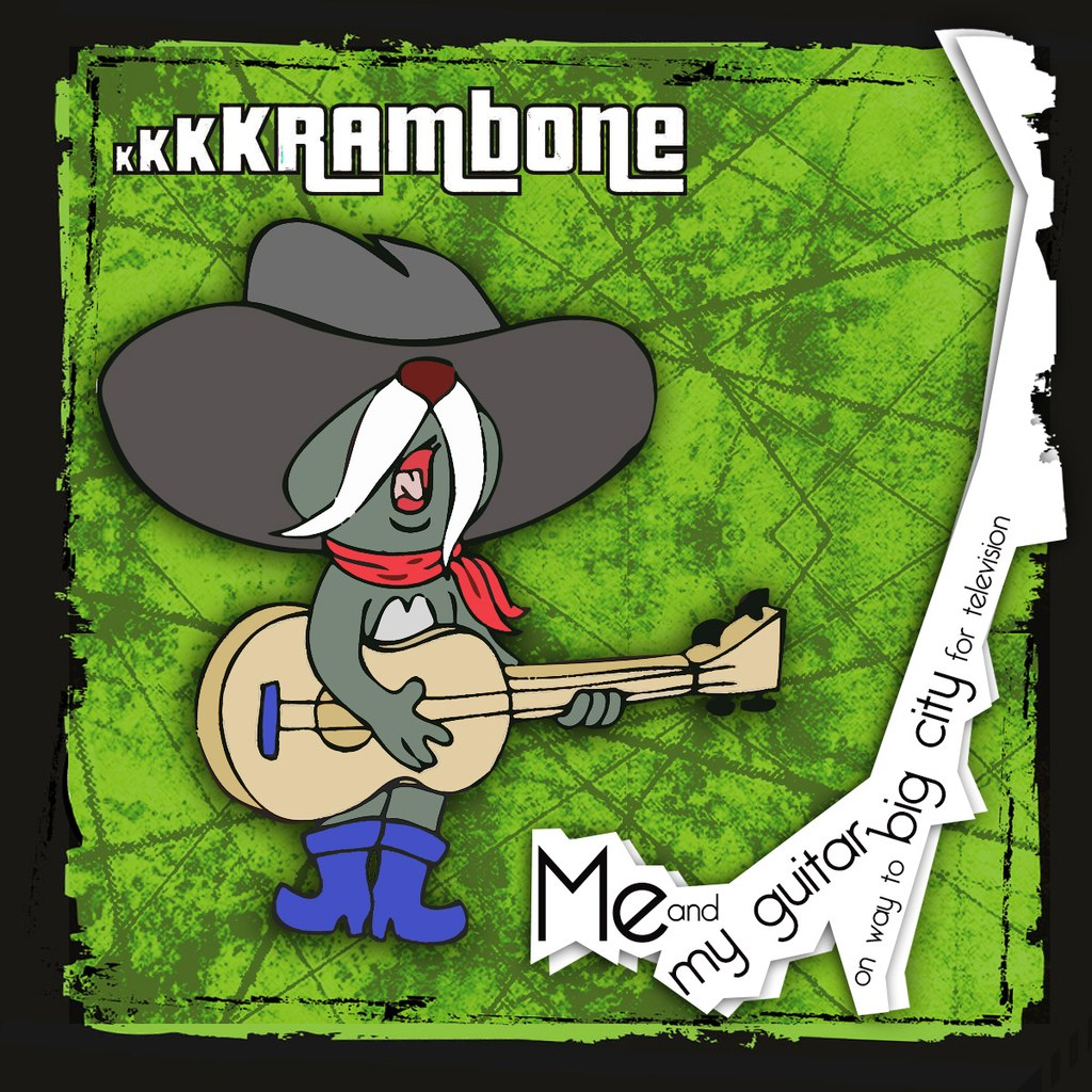 kkkkrambone - Me And My Guitar On Way To Big City For Television (EP) (2014)