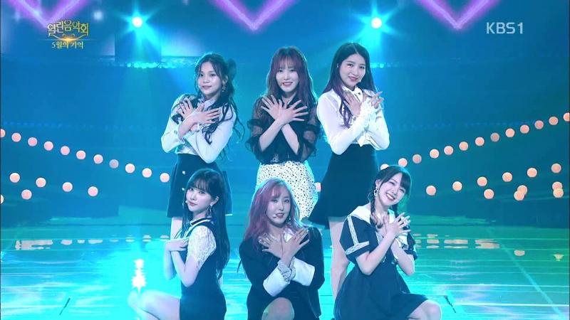 GFRIEND (2018.05.20) KBS Open Concert - Time For The Moon Night Me gustas tu Rough NAVILLERA