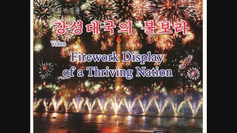 Firework Display of a Thriving Nation