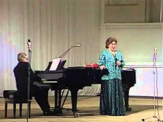 Ирина Архипова - Не отходи от меня (1988; муз. Александра Егоровича Варламова - ст. Афанасия Афанасьевича Фета)