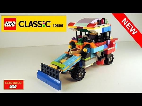 LET'S BUILD LEGO 1970 TRACTOR CATERPILLAR 824B