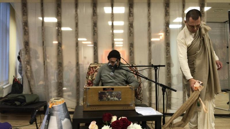 Программа с ЕМ Прабхавишну прабху в Екатеринбурге