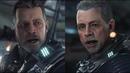 Star Citizen - Squadron 42 - Mark Hamill Character Model Comparison 2017 vs 2018