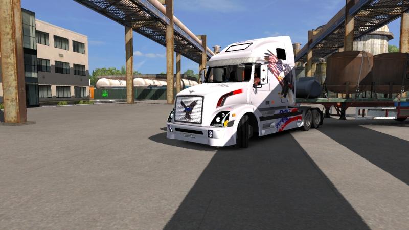 обзор грузовика Volvo VNL670 версия 1.5.3 от 18.05.18 для Euro Truck Simulator 2 (v1.31.x)