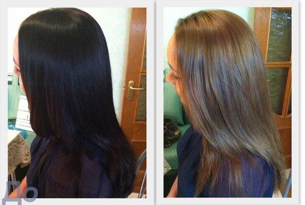 Как осветлить волосы из темного в светлый в домашних условиях