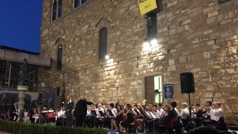 Firenze. Italia. 2018. Piazza della Signoria