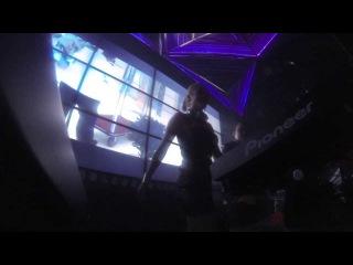 Dj Amely crazy live part of set, Attica club, Saigon, Vietnam