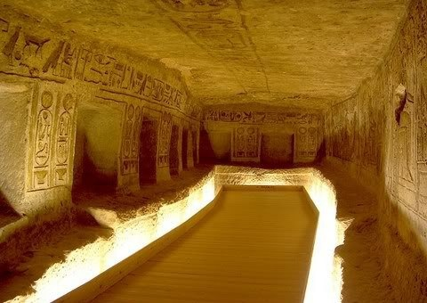 Загадочный храм Нубии – Абу-Симбел.
