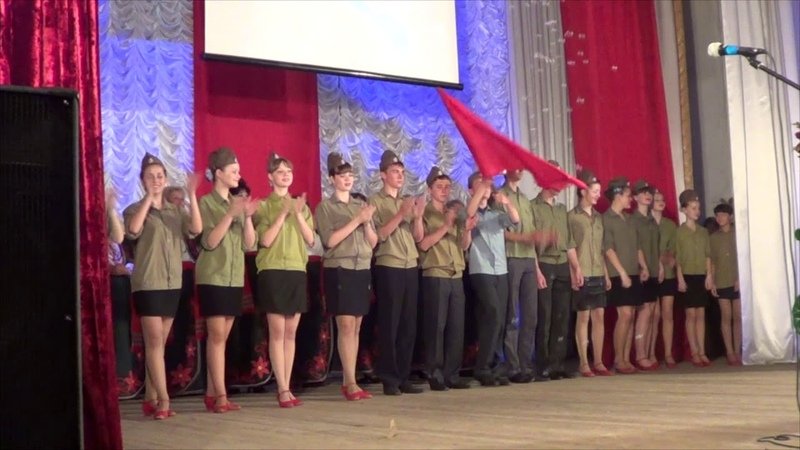 Володимир Хоружий - День Победы (фінал концерту) 09.05.2012