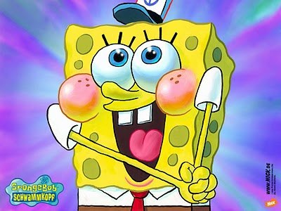 Флешь Урок рисования Спанч Боба (Sponge Bob)