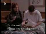 Beverly Hills 90210 : Donna & David in 1940's (season 7, episode 22, March 1997) -greek subs-