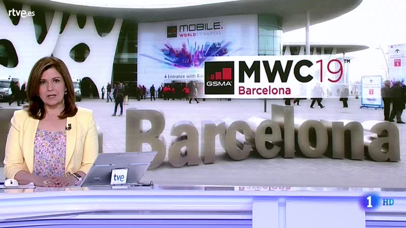 Telediario Matinal Mobile World Congress Bcn L-25-2-2019