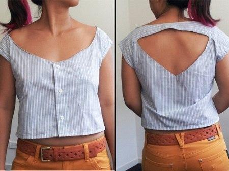Переделки из рубашки