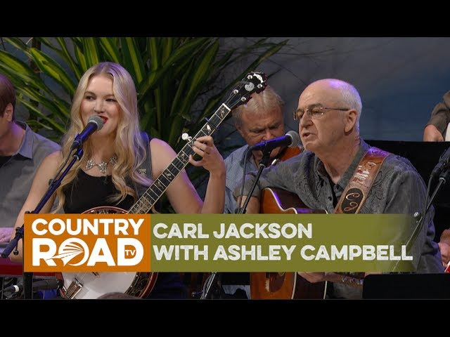 Carl Jackson, with Ashley Campbell, sings Gentle On My Mind