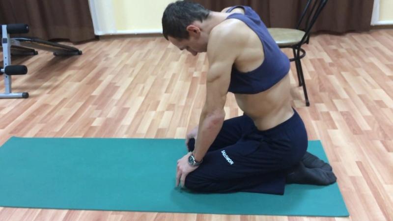Дыхательное упражнение Убираем живот, делаем талию