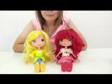 Видео для девочек. Фея и знакомство с героями канала Мамы и дочки