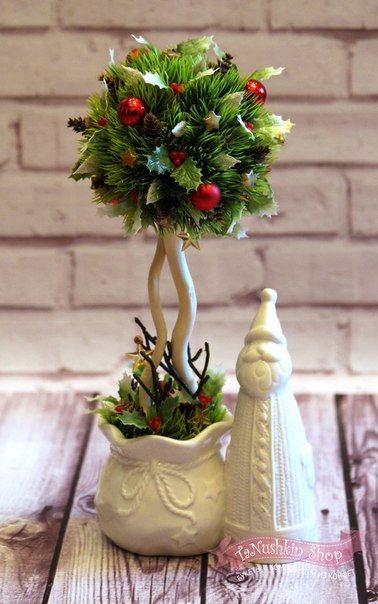 Новогоднее деревце для мамы: (2 фото) - картинка