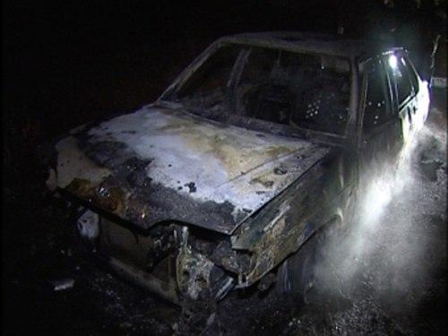 сгорел автомобиль вневедомственной охраны