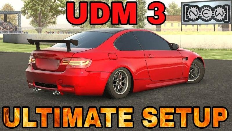 UDM 3 Ultimate Setup Test Drive! (BMW M3 E92) | CarX Drift Racing