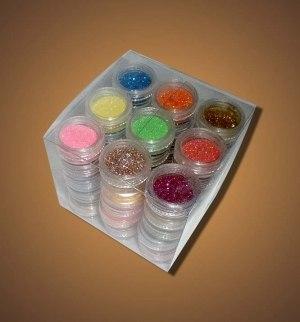 Набор блесток для дизайна ногтей