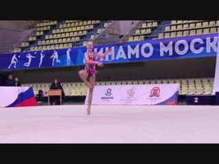 Софья Никеева - скакалка (финал многоборья) // Певренство Москвы 2019