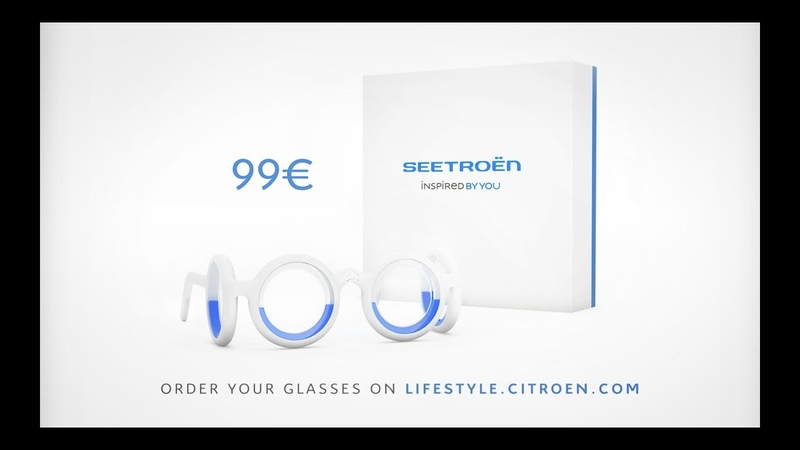 SEETROËN - The first glasses that restore the taste for Travel by Citroën