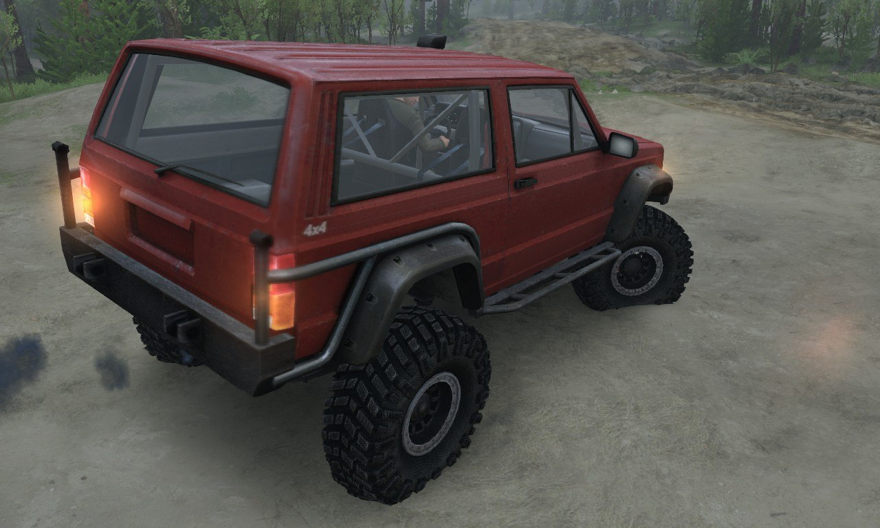 Jeep Cherokee SE 3-door для 03.03.16 для Spintires - Скриншот 3