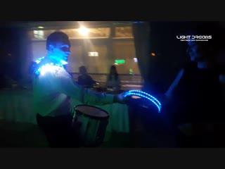 Световое Шоу Барабанов LIGHT DREAMS -2