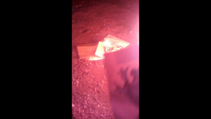 Нацисты сжигают картины.Цветная кинохроника.