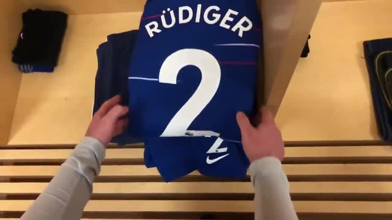 Congrats to @ToniRuediger who makes his 5️0️th @premierleague appearance for the Blues today! Hustle ARSCHE