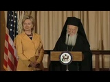 Ecumenical Patriarch Bartholomew's address at the State Department dinner