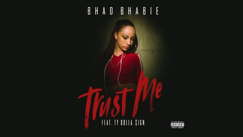 BHAD BHABIE feat. Ty Dolla $ign - Trust Me (Official Lyric Video) | Danielle Bregoli