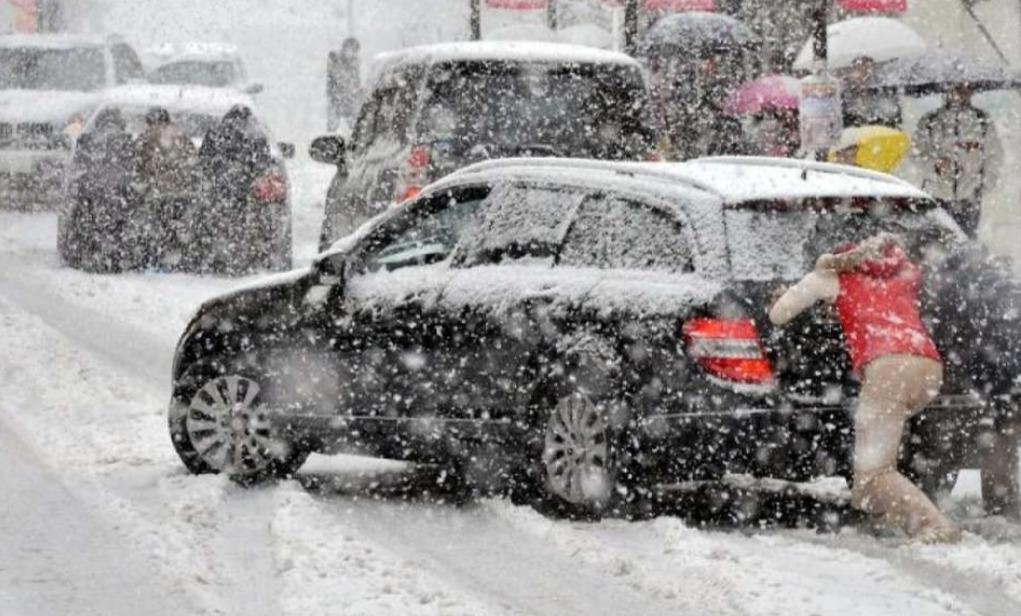 В Таганроге снова ожидается дождь, снегопад, метель и ветер 22 м/с
