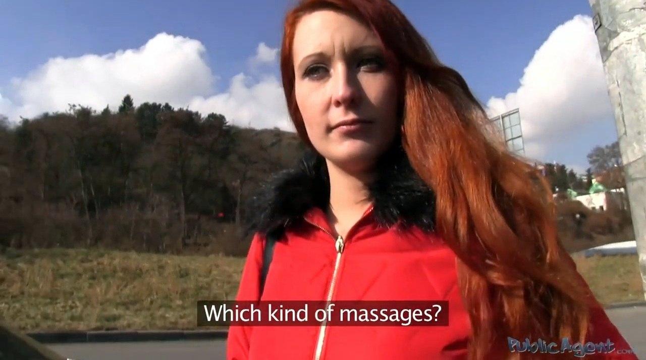 PublicAgent Jana E277 Трахнул рыженькую под мостом в Чехии