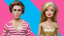 Кен-плакса и Анджела с прыщом / Мама Барби - Играем в куклы