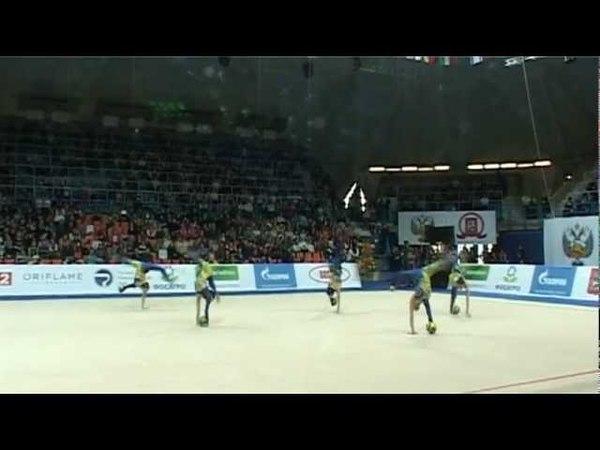 Гран-При Москва 2012 - 5 мячей Япония